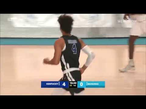 MBB: Kentucky 85, Bahamas 61