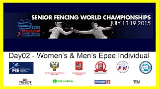 Senior Fencing World Championships Moscow 2015 - DE Day02 Finals