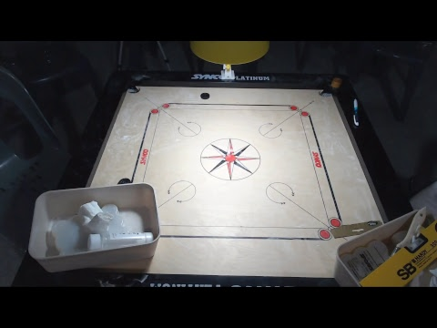 Carrom Worldcup Korea 2018 - Chamil Cooray(Sri Lanka) vs Zaheer Pasha(India)