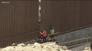 14 miles of border wall replaced along Mexico-San Diego border