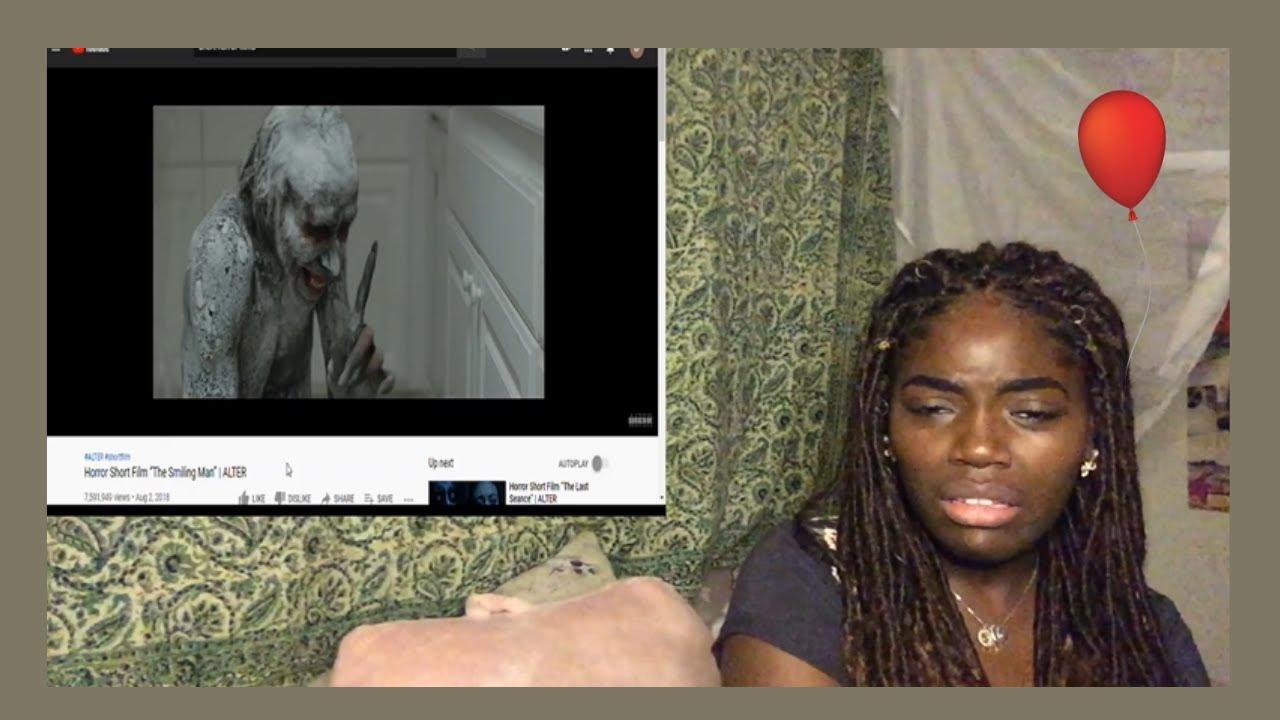 Download The Smiling Man Reaction   Horror short film