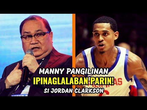 Manny Pangilinan IPINAGLALABAN PARIN! si Jordan Clarkson