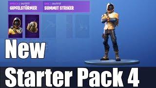 Fortnite Starter Pack 4 - Summit Striker / Summit Striker - Showcase / Best Gameplay .. même pas