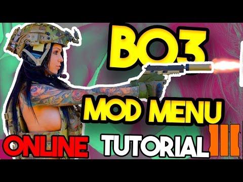 COD BO3 free Mod Menu 2017!!!!  WORKS ONLINE!!!  PS3, PS4, XBOX