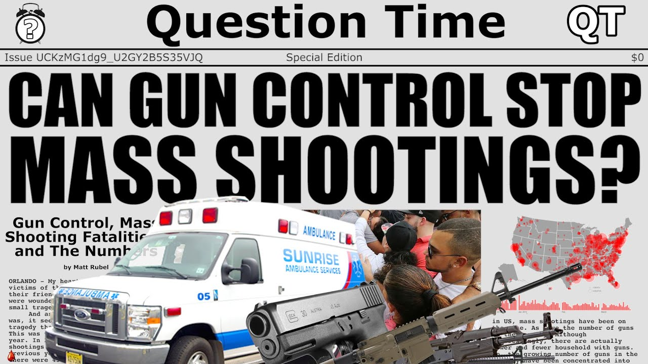 gun control the prevention of mass shootings Aftermath of mass shootings in the united states: (1) gun violence and mass shootings are a cultural artifact (gun enthusiast perspective) (2) gun violence and mass shootings are more prevalent due to.