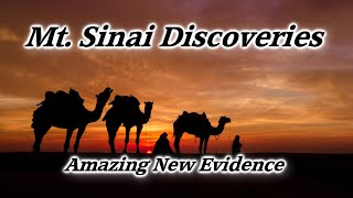 Mt. Sinai Location, Mountain of Moses, Altar, Golden Calf, Exodus, Ten Commandments, Midian, Arabia