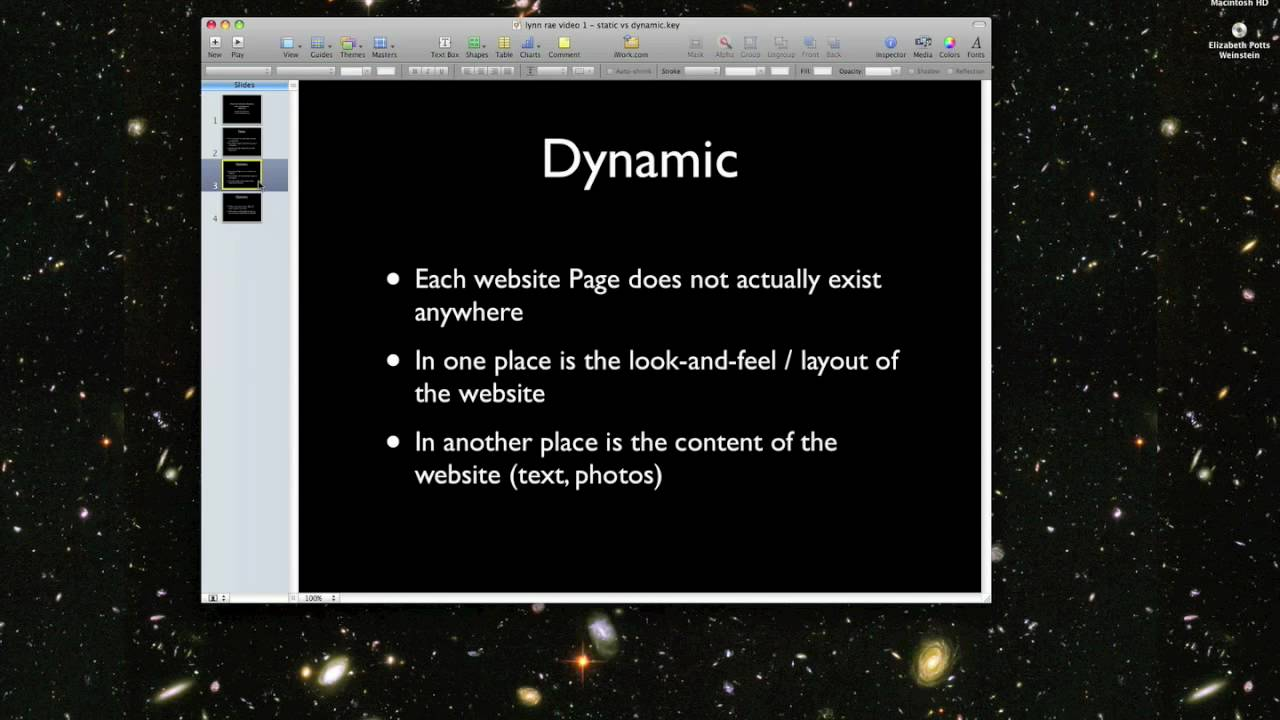What's the Difference Between Static and Dynamic Websites? - YouTube