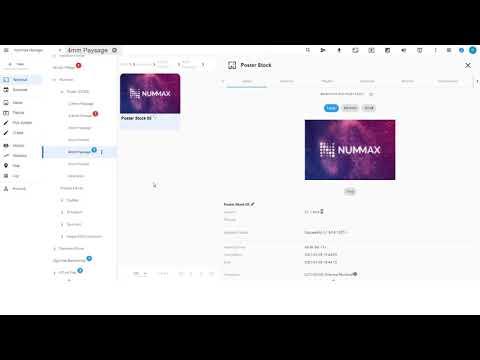 00-Publier du contenu en 2 minutes dans Nummax Manager AIO (Démonstration)