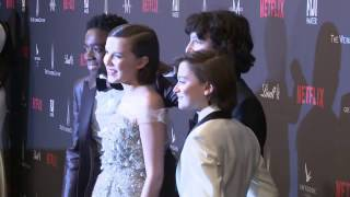 Stranger Things: Cast at the Weinstein Golden Globes 2017 Party