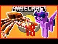 Minecraft - CRABZILLA VS TWILIGHT SPARKLES (CAN THIS MONSTER CRAB TAKE ON A TINY MY LITTLE PONY?!?)