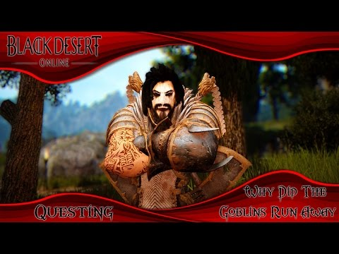 Black Desert Online Why Did The Goblins Run Away?