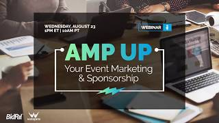 Amp Up Your Event Marketing and Sponsorships