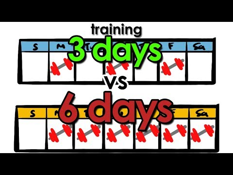 Training 3 Days vs 6 Days | How Many Days Should You Workout?