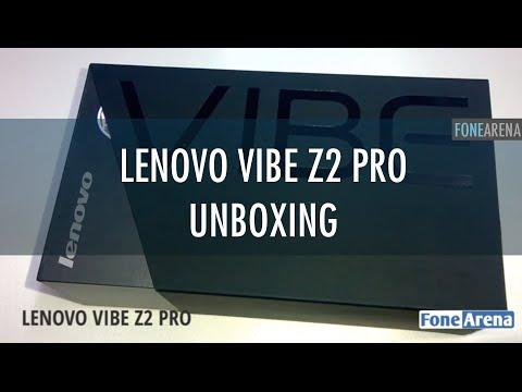 Lenovo Vibe Z2 Pro Unboxing