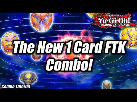 Yu-Gi-Oh! THE NEW 1 CARD FTK COMBO TUTORIAL 2019! (100% FIRST TURN WIN COMBO)