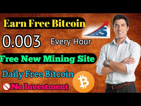 Earn 0.003 Bitcoin Every Hour |🔥| New Mining Site 2019 || No Investment [Hindi]