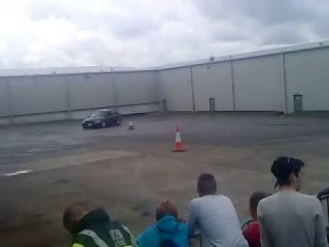 Drifting at Cavan Cruisers Ireland's Charity Event
