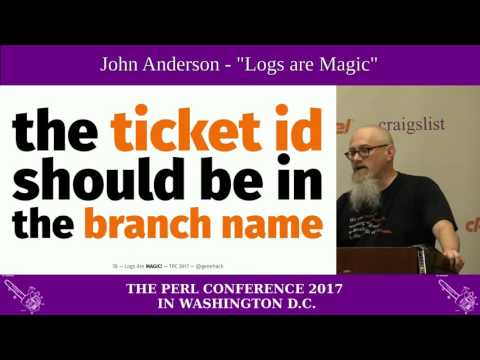 "John Anderson - ""Logs Are Magic: Why Git Workflows and Commit Structure Should Matter To You"""