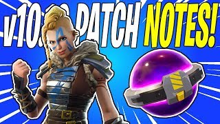 NEW SMG Weapon Type & Huge Twine Reward Buff! Update v10.10 Patch Notes | Fortnite Save The World
