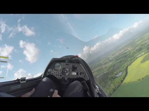 Gliding - Learning to fly - Flight 063