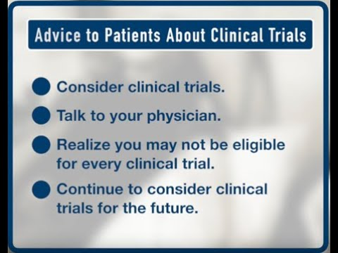 How to Find a Clinical Trial for Cancer Treatment