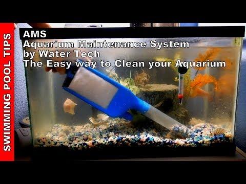 AMS Aquarium Maintenance System By Water Tech: Clean Your Aquarium The Easy Way!