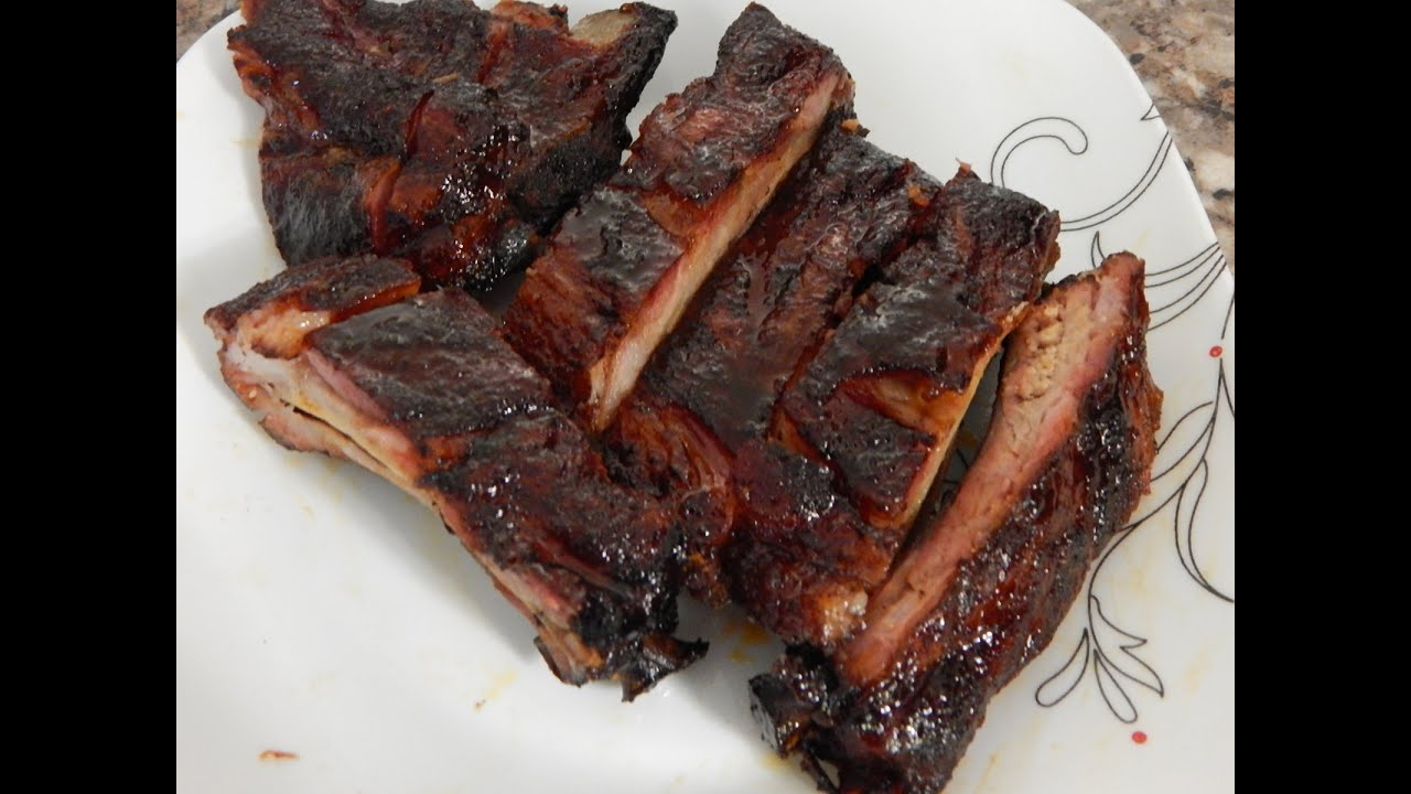 BBQ Ribs On Weber Grill - BBQ Ribs - Baby Back Ribs - YouTube