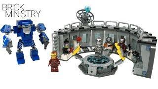 IRON MAN HALL OF ARMOUR ● LEGO Avengers: ENDGAME [76125]