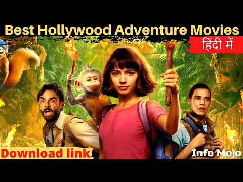 🔥 Top 5 Hollywood Adventure Movies In Hindi Dubbed | Best Jungle Adventure Movies In Hindi Dubbed