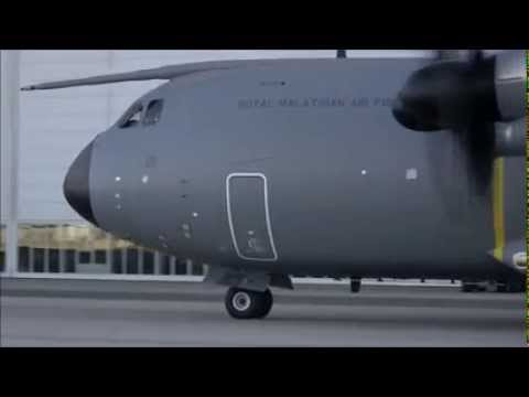 Malaysia A400M military air lifter