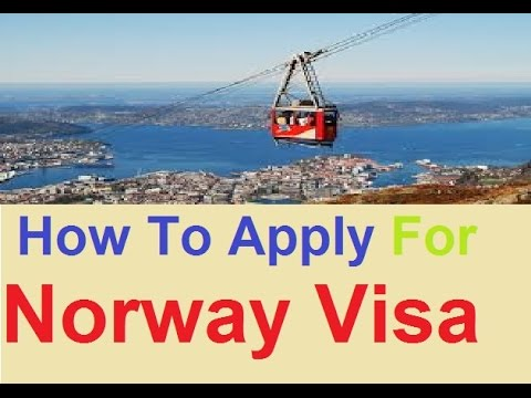How To Apply For Norway Visa