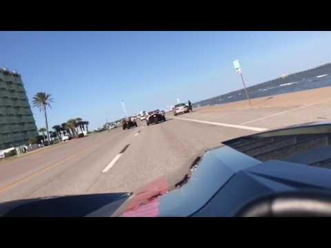Cruise down the Galveston, TX seawall Polaris Slingshot Houston TexanSlingin