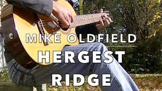 Mike Oldfield - Hergest Ridge (Excerpt) [Fingerstyle Guitar Cover]