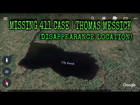 DISAPPEARANCE LOCATION) MISSING 411 CASE | THOMAS MESSICK ...