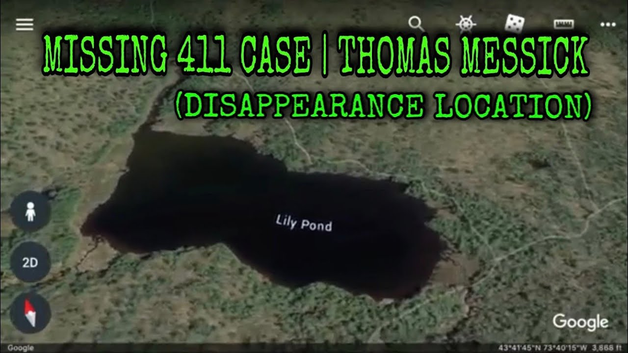 (DISAPPEARANCE LOCATION) MISSING 411 CASE | THOMAS MESSICK DISAPPEARANCE  (David Paulides Hunters)