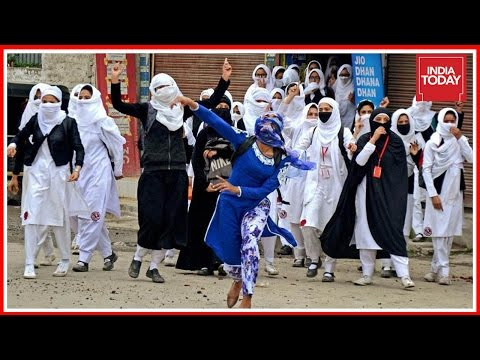 To The Point : Who Is Forcing Kashmiri Girls To Take Stones ?
