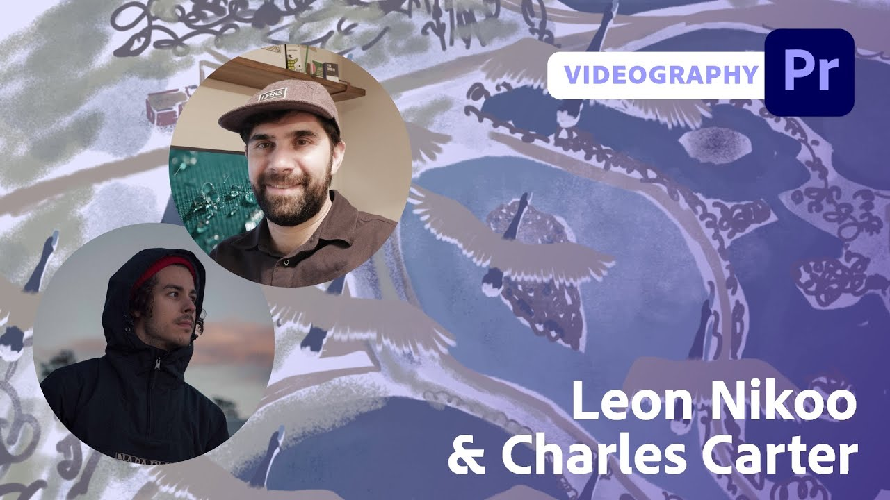 Handcrafted Textures using Photoshop and After Effects with Leon Nikoo & Charles Carter | Adobe Live
