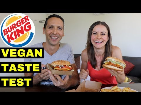 VEGANS EAT BURGER KING! MUKBANG | RESPONSE