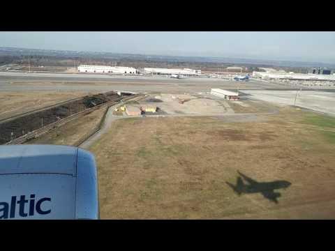 Air Baltic Boeing 737-300 Landing at MILAN(MXP)