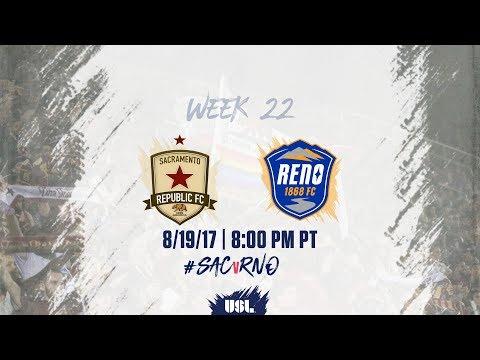 USL LIVE - Sacramento Republic FC vs Reno 1868 FC 8/19/17