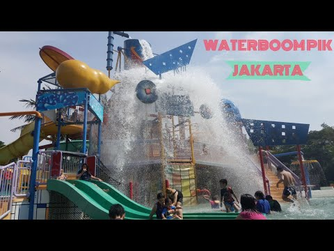 Libur Tlah Tiba Waterboom Pik Waterpark Jakarta Twister Kiddy Pool 1/2