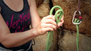 Rock Climbing Basics 4: Tying a Figure 8 knot and Clove hitch - Wild Country