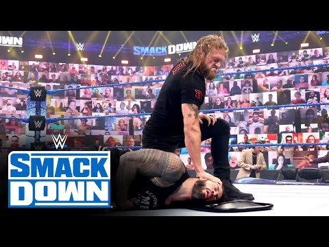 Edge returns to launch a surprise attack on Roman Reigns: SmackDown, June 25, 2021