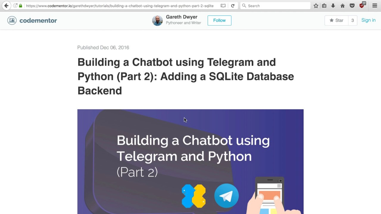 How to Build a Chatbot in Python and Deploy it to a VPS (Preview)