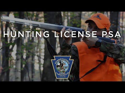 Hunting License PSA