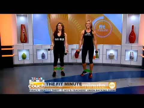 PreNatal Workout with Mindi Smith - Pregnancy Exercise - CBS The Fit Minute fitness