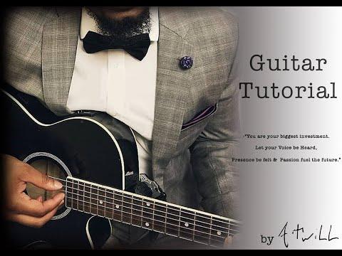 Masego and Fkj Tadow Guitar Tutorial