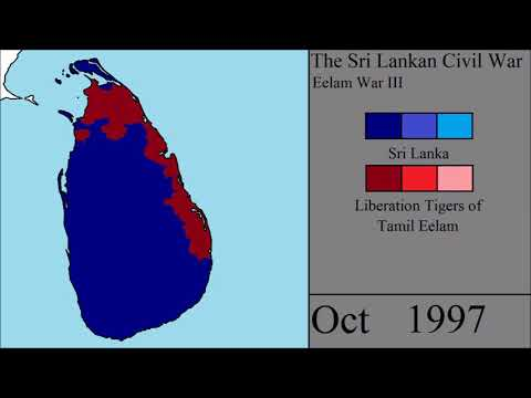The Sri Lankan Civil War: Every Month