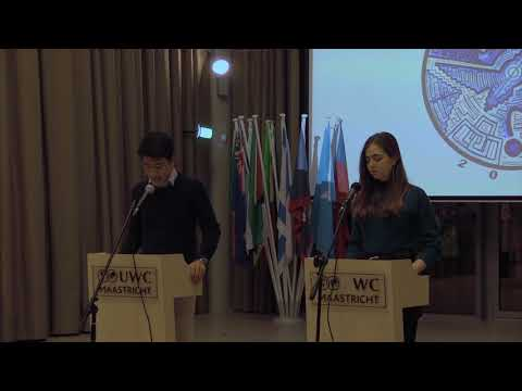 International Peace Conference 2018 Closing Ceremony Speech - Student Speakers
