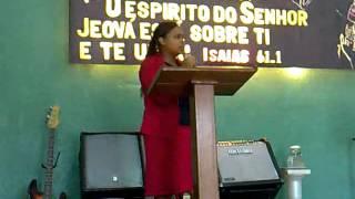 Missionária Jane Cristina - Aniv. do Círculo de Oração - Igreja P. As Nações para Cristo